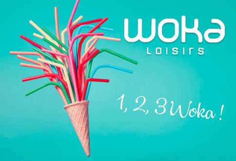 Woka loisirs - 1, 2, 3 WOKA !