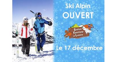 Woka loisirs - Ouverture Ski Alpin à Charquemont